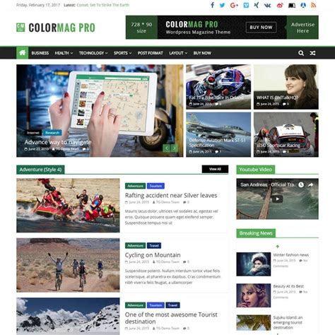 News Themes 10 Best Responsive News Magazine Themes 2018