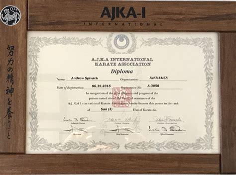 meet andrew spivack head karate instructor warwick