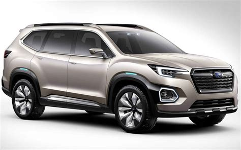 subaru forester redesign 2018 subaru forester xt concept redesign and release date