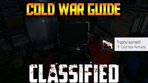 cold zombies war ops easter egg guide remedy