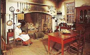 colonial williamsburg kitchen 18th Century American