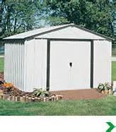 yard buildings outdoor storage accessories at menards 174