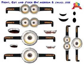 Despicable Me Minion Eyes Printable