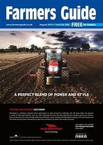 Farmers Guide August 2018 By Farmers Guide