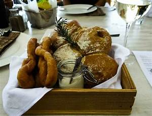 The bread basket presentation - Picture of Barbouni ...