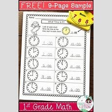 17 Best Images About Math For First Grade On Pinterest  Fact Families, Telling Time And First