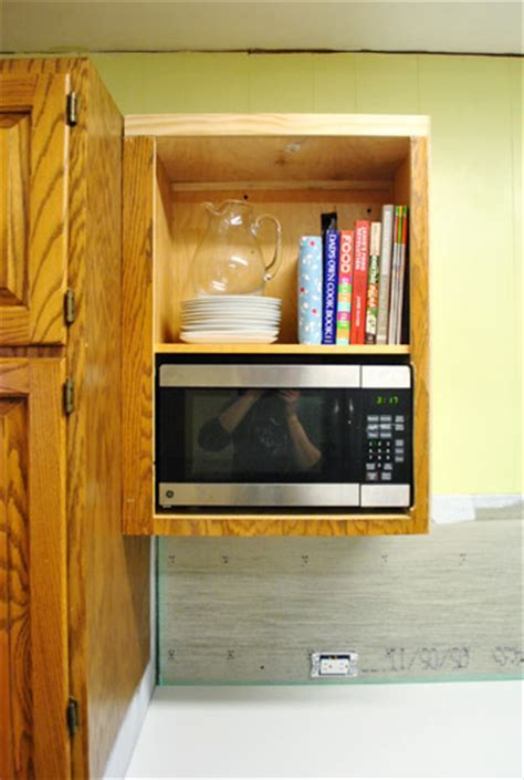 How To Hide A Microwave (Building It Into A Vented Cabinet