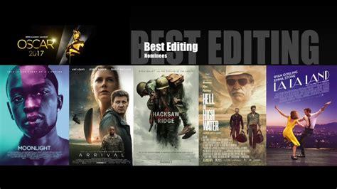 oscar 2017 bester oscar 2017 best editing nominees