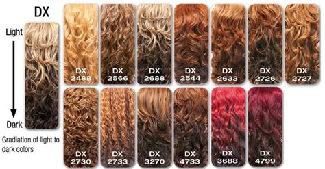 Hair Colours List by Weave Hair Color Chart Photosgratisylegal