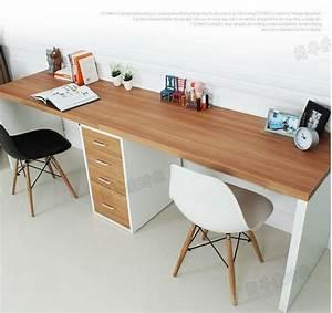 Doppel Schreibtisch Ikea : double long table desk computer desk home desktop computer desk minimalist modern desk with ~ Markanthonyermac.com Haus und Dekorationen