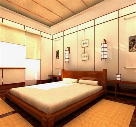 Asian Bedroom by How To Make Your Own Japanese Bedroom