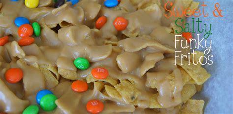 Sweet & Salty Peanut Butter Caramel Funky Fritos