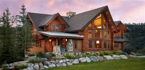 decoration chambres chalet contemporain thunderhead colorado usa