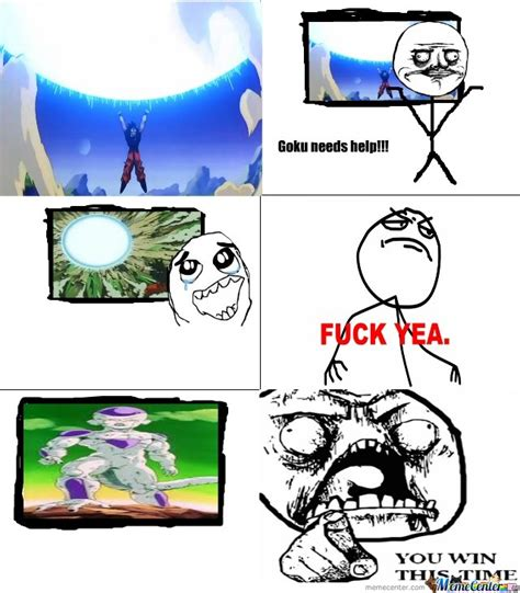 Frieza Memes - frieza you win this time by didimon meme center