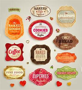 food label template free vector download 24774 free With create sticker labels
