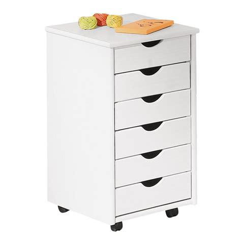 caisson de bureau 6 tiroirs quot school quot blanc