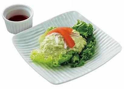 Tofu Recipe Appetizer Avocado Mashed Kikkoman Fusion