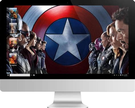 marvel cinematic universe theme  windows  expothemes