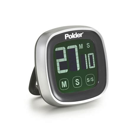 Polder Touch Screen Digital Timer  Cutlery And More