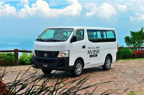 nissan urvan modified nissan ph to increase prices of urvan by up to p50 000