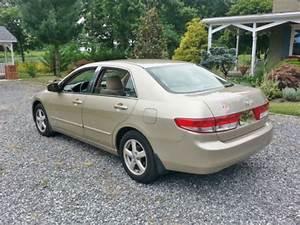 Sell Used 2003 Honda Accord Ex   Sunroof