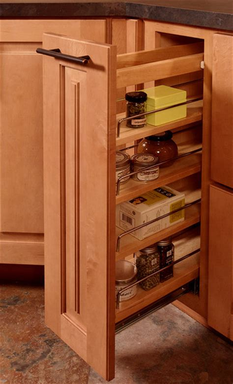 Base Cabinet Pull Out Spice Rack by Base Pull Out Spice Rack Contemporary