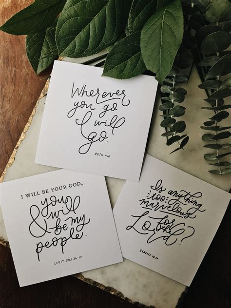 These encouraging bible verses provide strength when life presents challenges. Encourage Bible Verse Cards - Blessed Is She