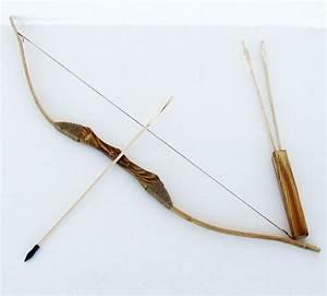 Fabriquer Un Arc : comment fabriquer un arc et des fl ches en bois arc ~ Nature-et-papiers.com Idées de Décoration
