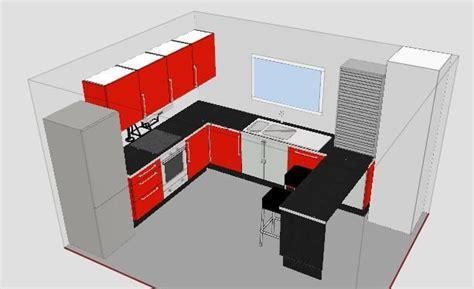 plan 3d cuisine ikea plans rdc influence de la cuisine construction de