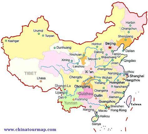 capital  china map