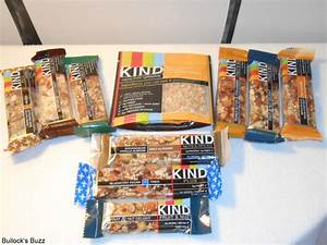 KIND Healthy Snacks Review - Bullock's Buzz