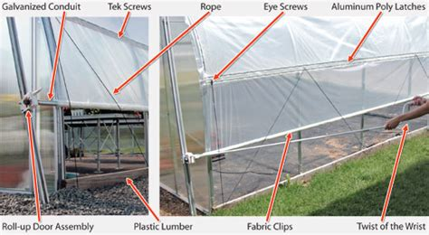 greenhouse ventilation roll up curtain walls