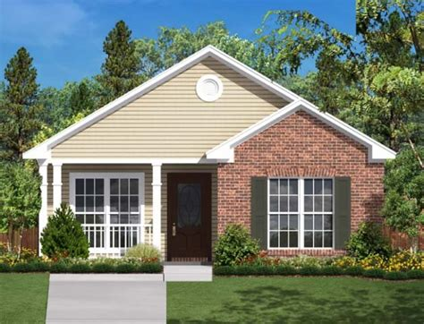 2 Bedroom 1 Bath House Plan #ALP 028N Allplans com