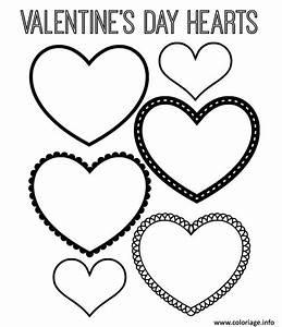 Dessin Saint Valentin : coloriage coeur saint valentin 122 dessin ~ Melissatoandfro.com Idées de Décoration