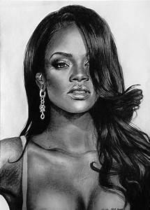 Rihanna - probably my best one by MissRoxyMFC on DeviantArt