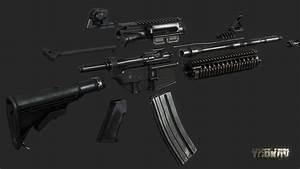 ArtStation - M4A1 assault rifle, Nikita Buyanov   Military ...