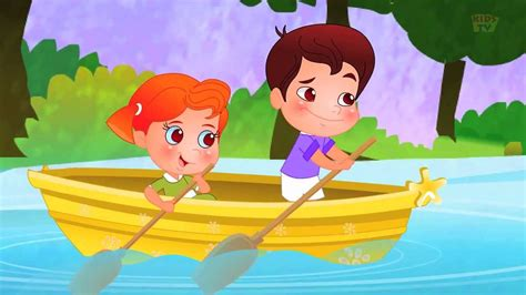 Row Row Your Boat Abc Kid Tv by Row Row Row Your Boat Nursery Rhyme Cartoon Videos For
