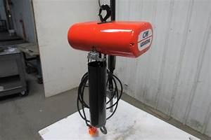 Cm Lodestar Model L 1 Ton 1hp Electric Chain Hoist 230