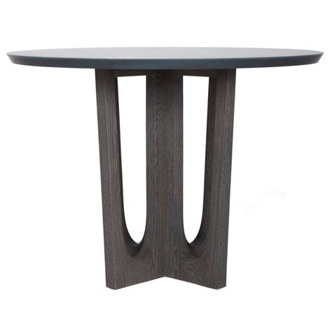 Pedestal Foyer Table by Grand Pedestal Foyer Table Contemporary Industrial Mid