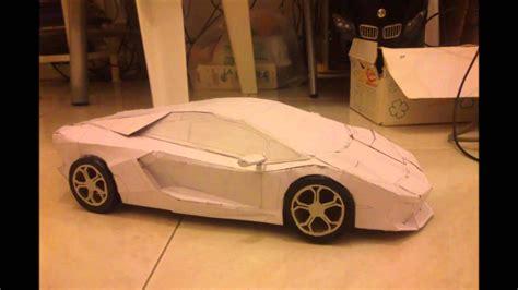 How To Make A Lamborghini by Lamborghini Aventador Paper Model Papercraft Auto Di