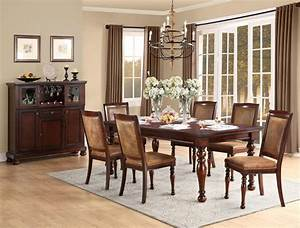 7 pc homelegance cumberland dining set usa furniture With home elegance furniture warehouse