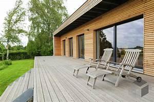 Fertighaus Bungalow Modern : individuelle planung moderner bungalow von baufritz komplette daten bersicht ~ Sanjose-hotels-ca.com Haus und Dekorationen