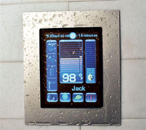 luxury digital shower system by watermark designs