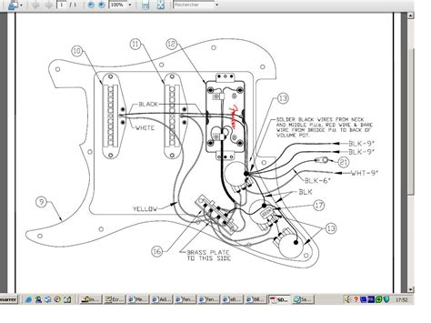 stratocaster humbucker wiring diagram get free