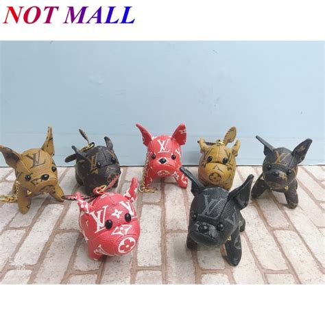mall louis vuitton lv monogram dog fly pig key chain bag chain  shopee philippines