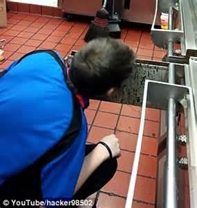 Teen McDonalds employee licks grease trap TWICE in $5 bet ...