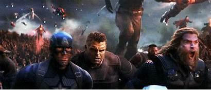 Avengers Endgame Scene Last Marvel Credits End
