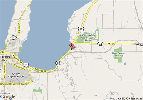 map  holiday inn express hotel suites acme traverse