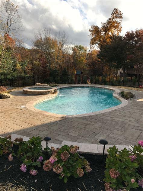 inground pools olympic pool  spa