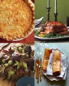 thanksgiving recipes  decor martha stewart